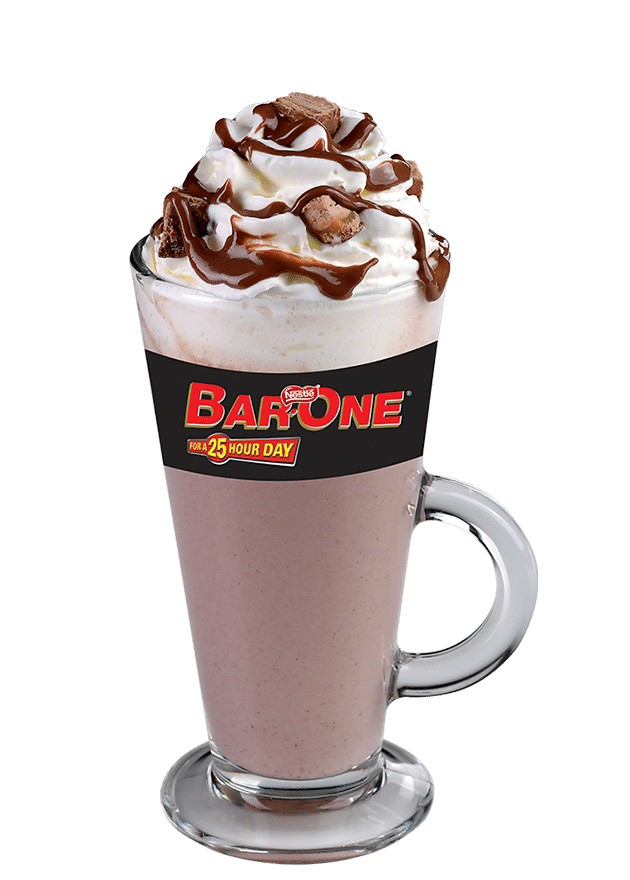 Bar-One Hot Chocolate