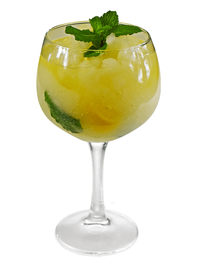 Pineapple and Coconut G&T (Frozen)