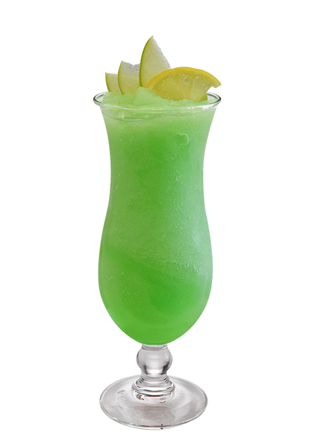 Frozen Sour Green Apple Daiquiri