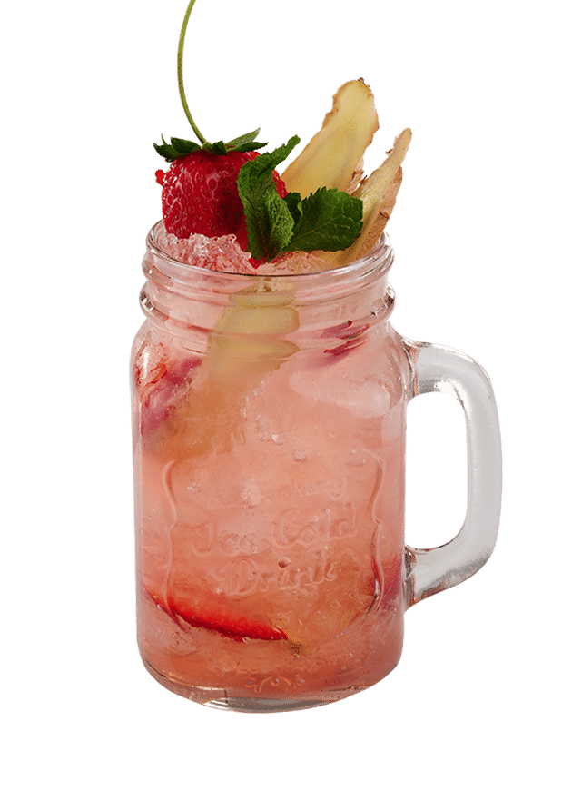 Strawberry Ginger Beer