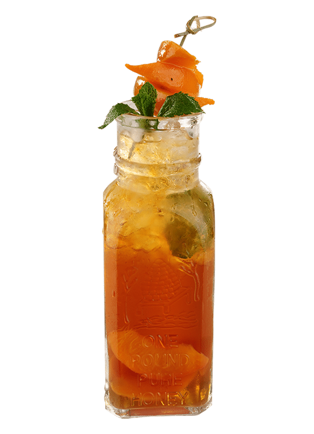 Peach Ice Tea Cooler