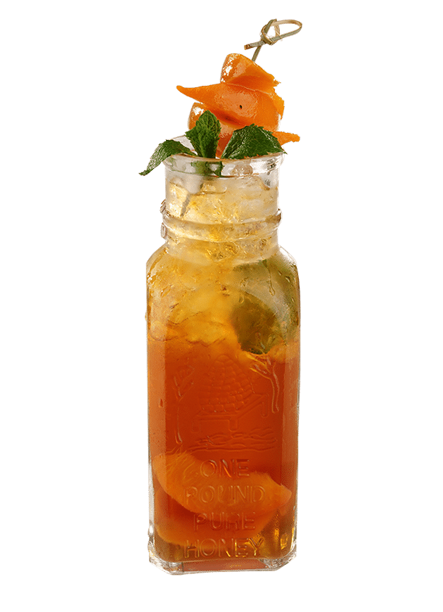 Peach RTD Ice Tea Cooler