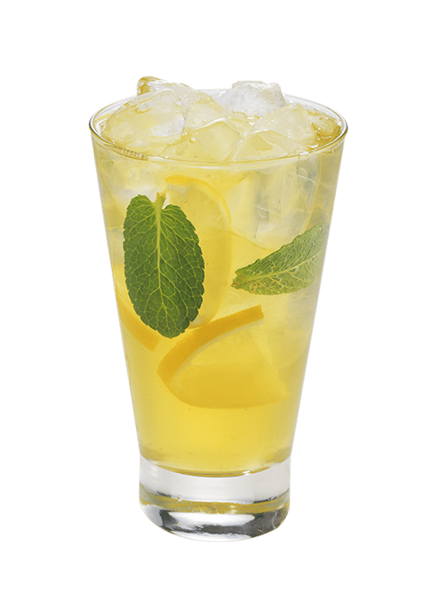 Tropical Green Tea Cooler